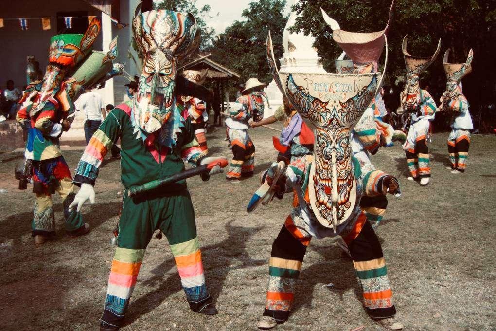 Phi Ta Khon Festival in Loei, Thailand