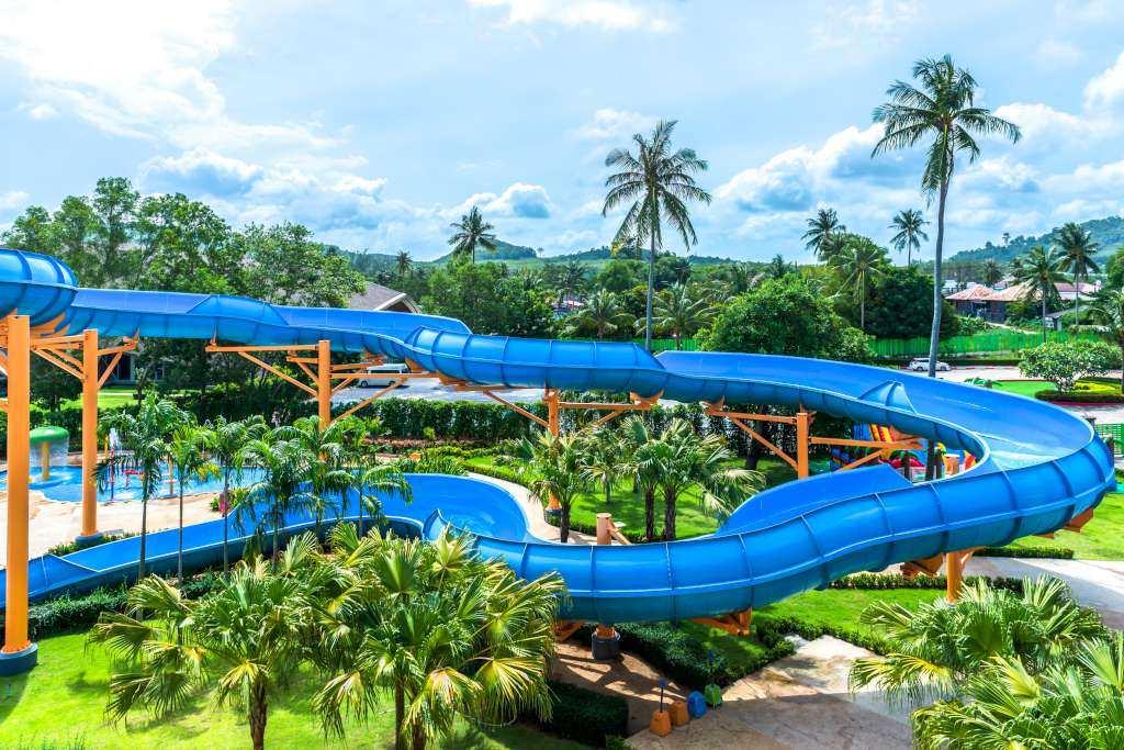 Splash Jungle Water Park in Mai Khao, Phuket
