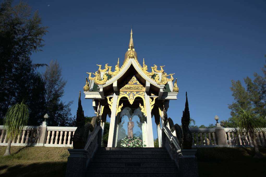Wat Mai Khao in Mai Khao, Phuket, Thailand