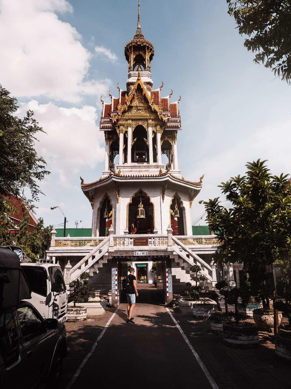 A temple in Bangkok