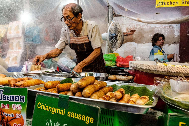 The sausage from Chiang Mai named Sai Ua