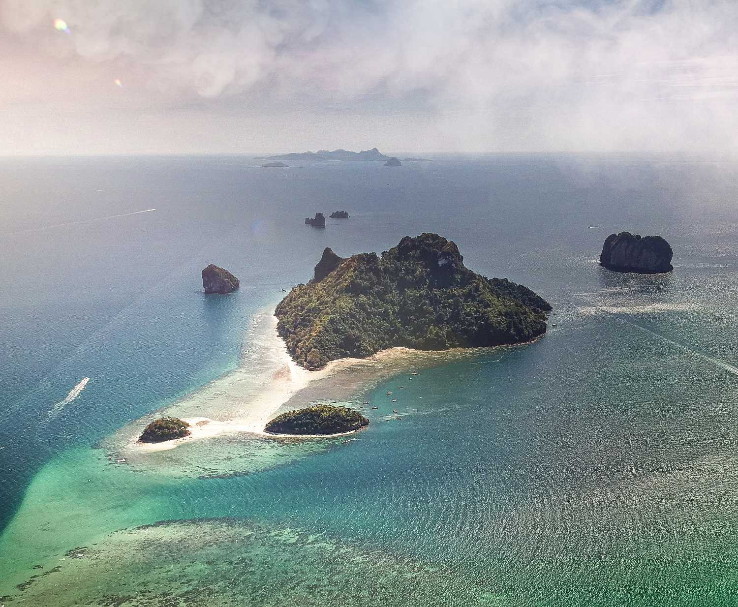 Tup Island in Thailand