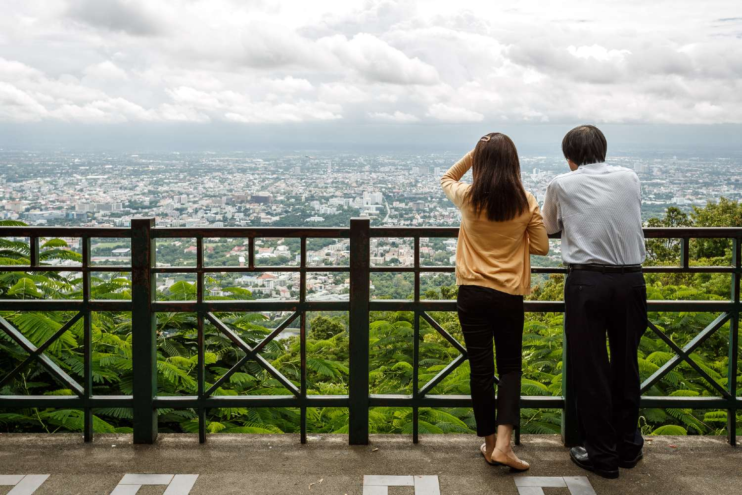 View of Chiang Mai from the Doi Suthep