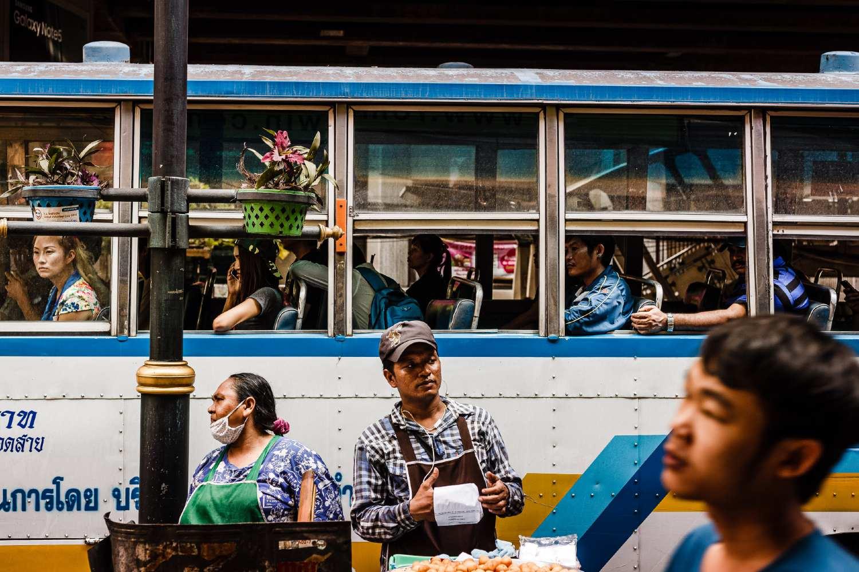 Hustle and bustle in Bangkok