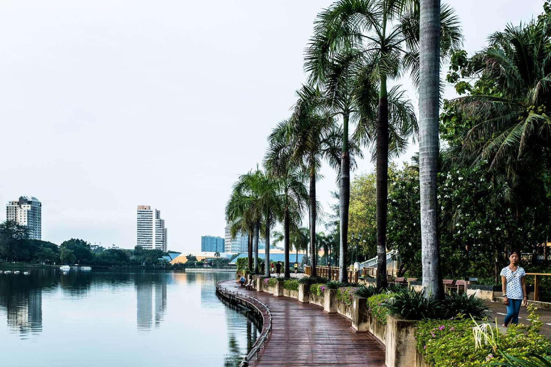 The Benjakiti Park in Bangkok