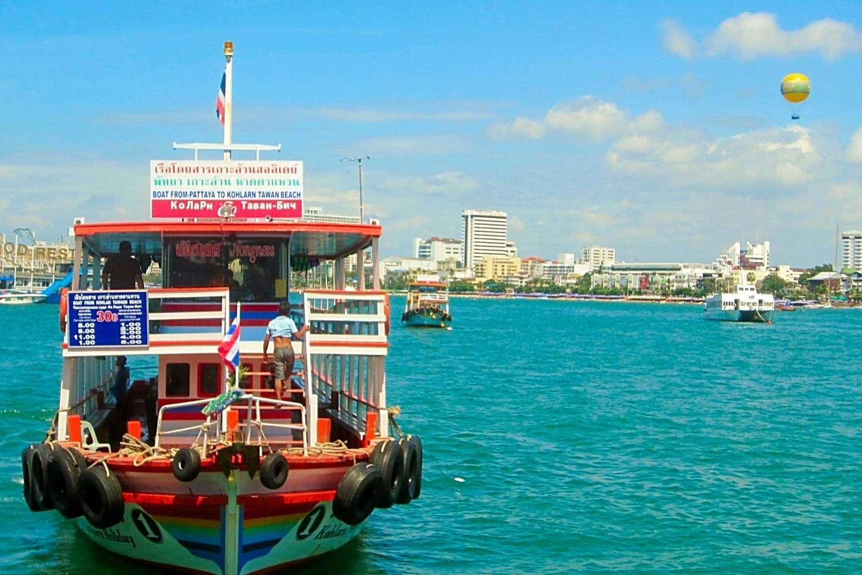 Ferry boot naar Koh Larn