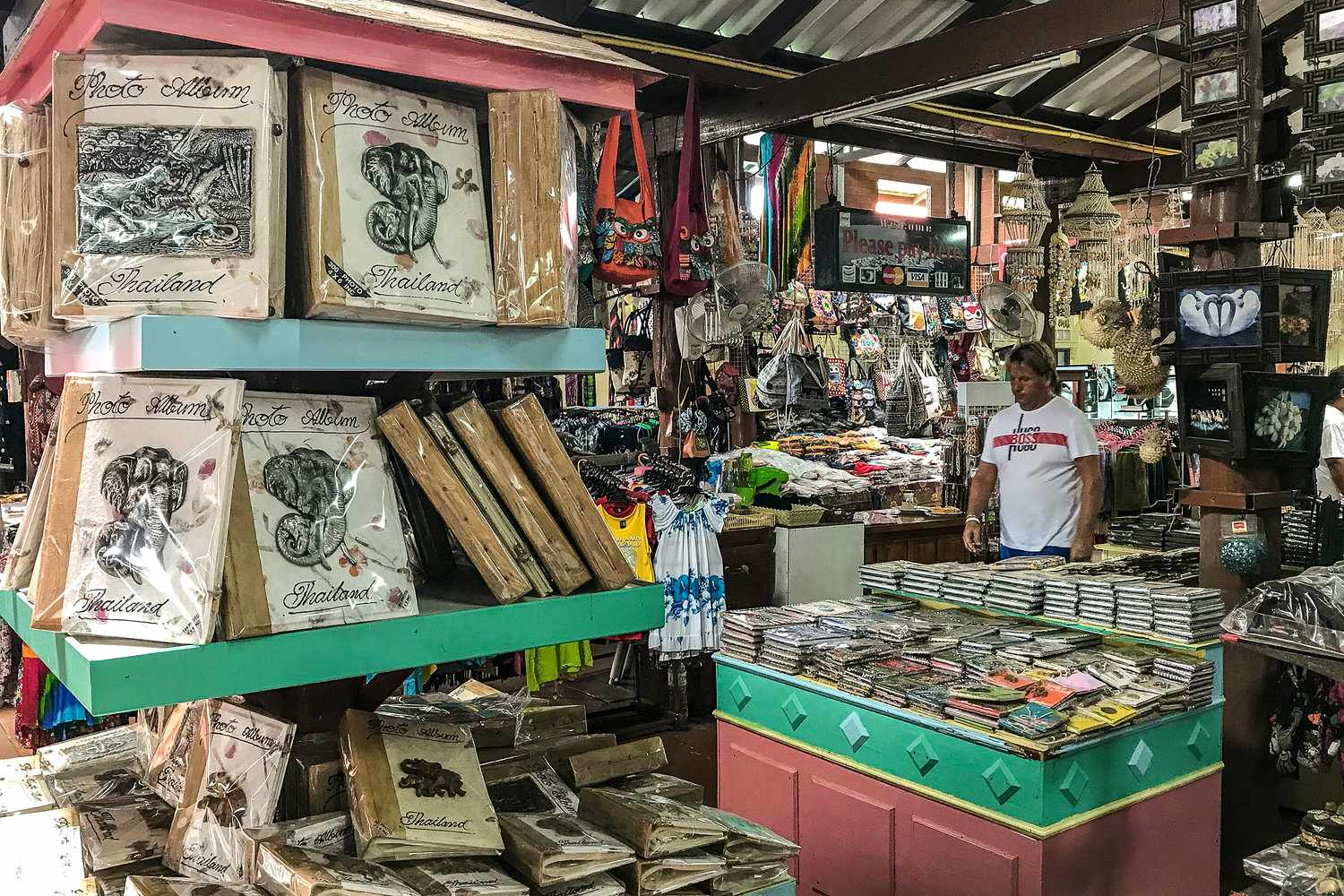 Souvenir store on Koh Panyi