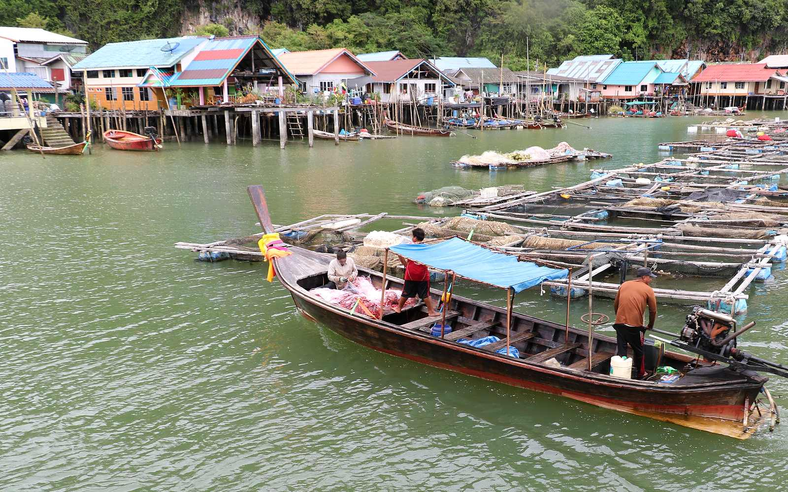 James Bond Island Tour, floating village