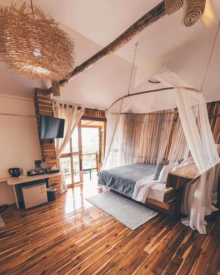romantic bungalow overlooking Phang Nga Bay