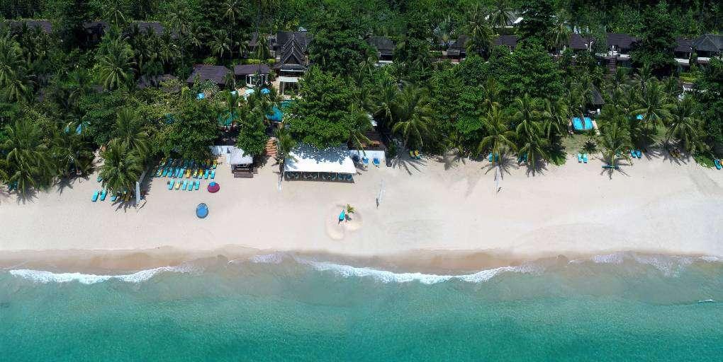 Het Andaman White Beach Resort aan Nai Thon Noi Beach in Phuket, Thailand