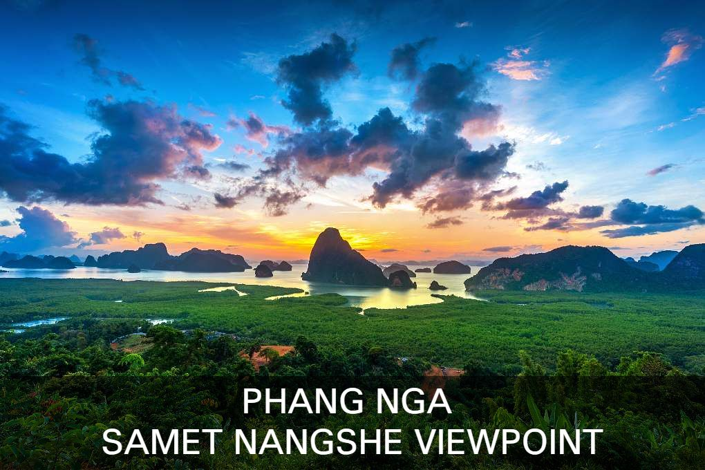 Lees hier alles over het Samet Nangshe Viewpoint In Phang Nga