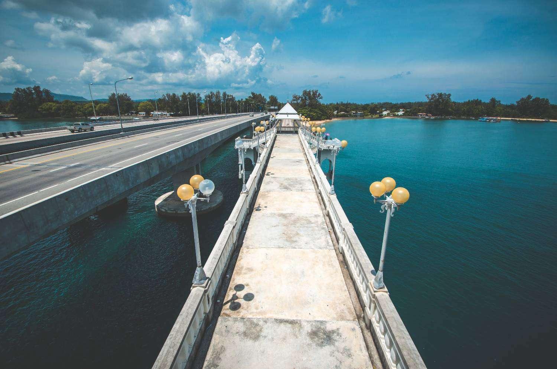 The old Sarasin bridge, a bridge with a sad love story