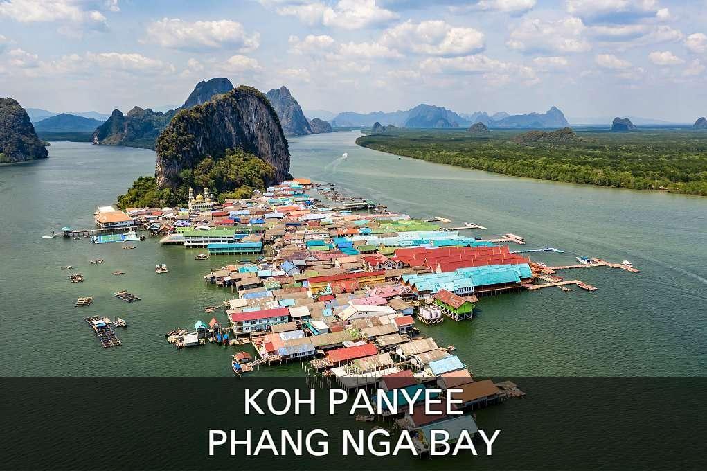 Lees hier alles over het drijvende moslim dorpje Koh Panyee in Phang Nga