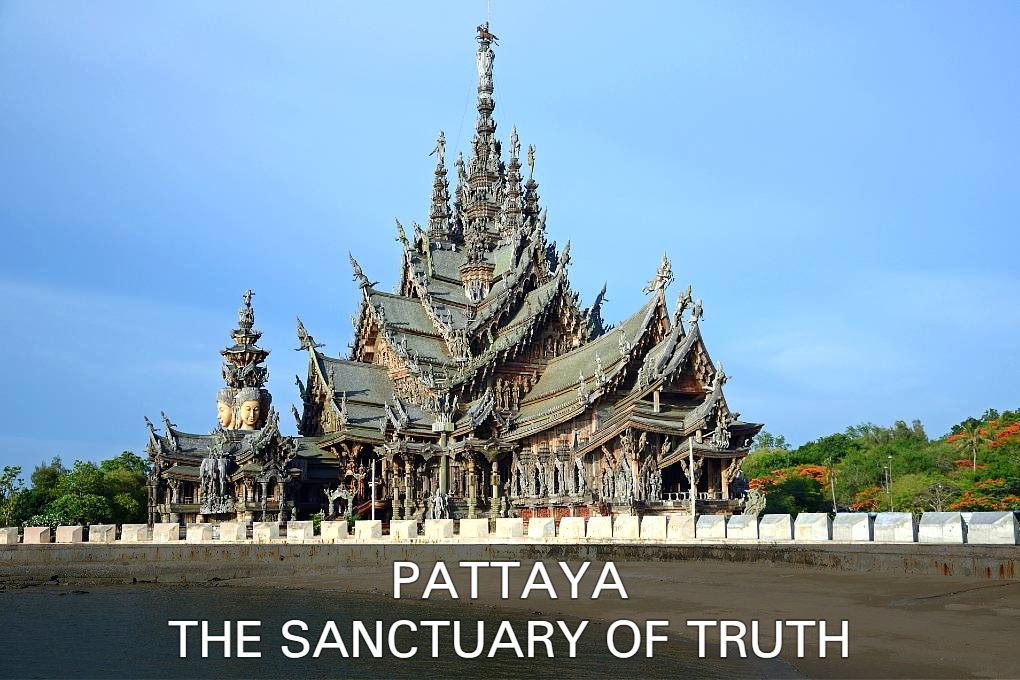 Sanctuary of Truth temple made entirely of wood