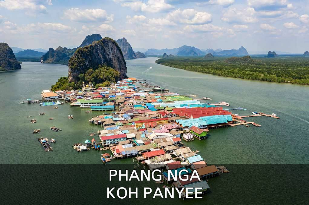 Click here to read all bout the floating Muslim village Koh Panyee in the bay of Phang Nga