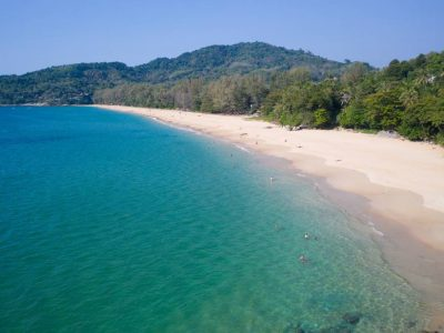 The Bay Of Nai Thon Beach In The North Of Phuket, Thailand