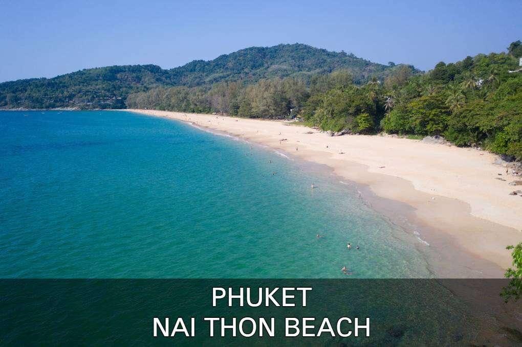 Lees hier alles over Nai Thon Beach en haar mooie omgeving in het noorden van Phuket