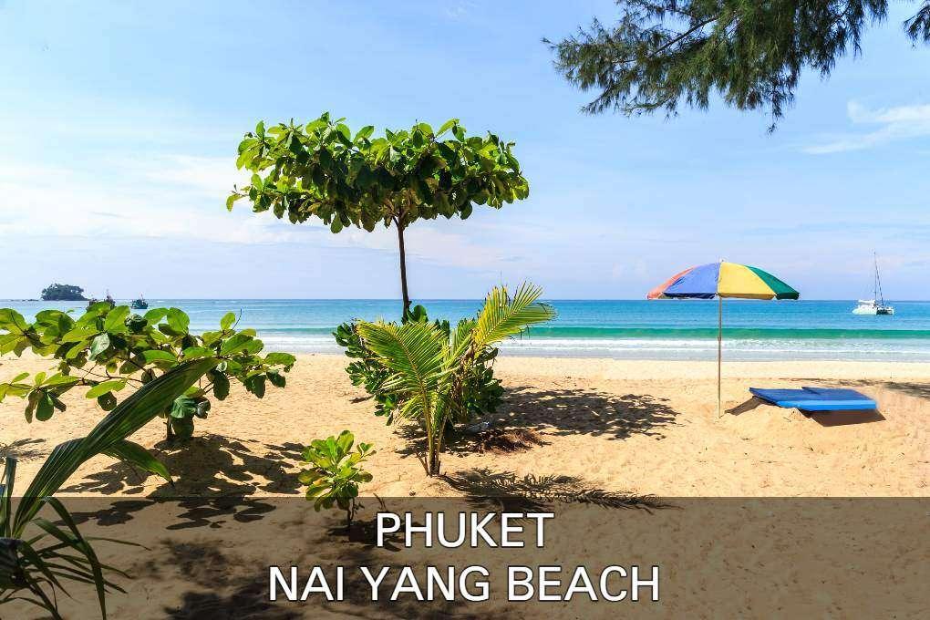 Klik hier als je alles wilt lezen over Nai Yang Beach op Phuket