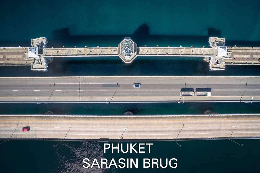 Lees over de geschiedenis van de Sarasin brug op Phuket, Thailand