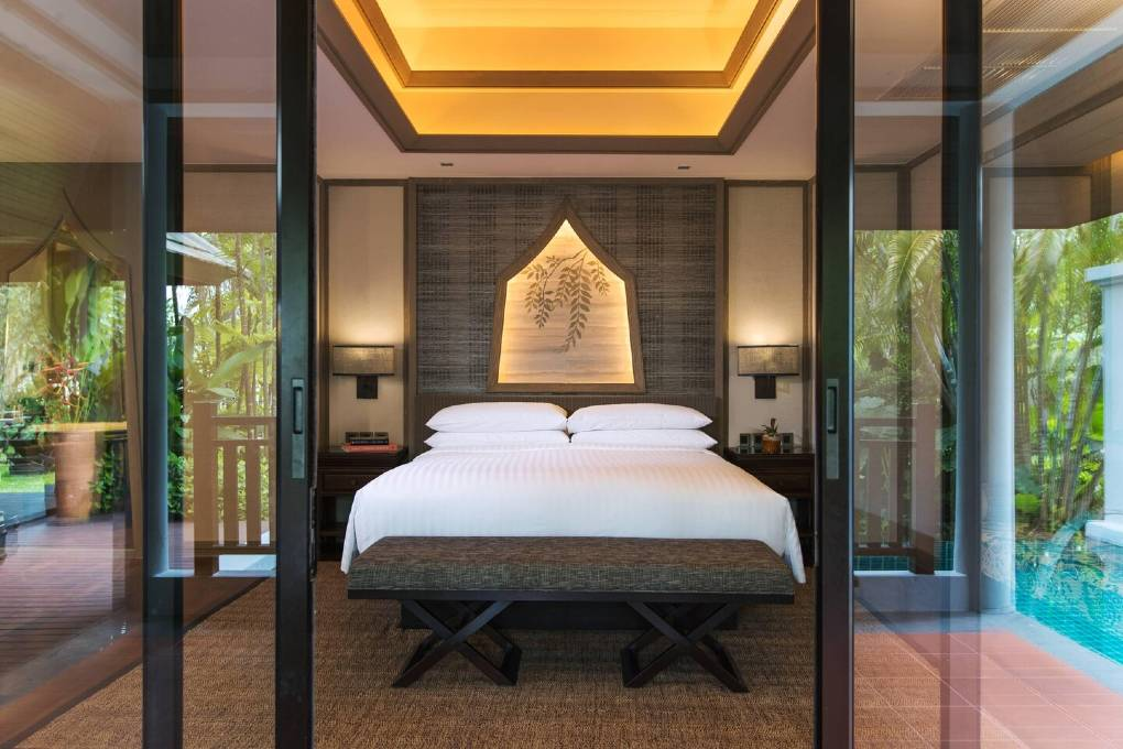 Villa van Phuket Marriott Resort and Spa Nai Yang op Phuket, Thailand
