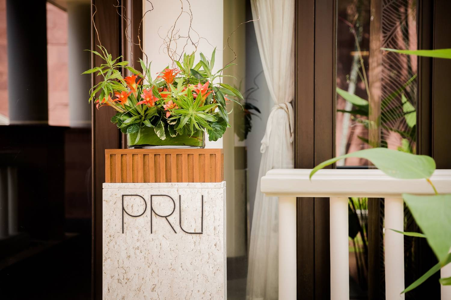 PRU Restaurant in Trisara, in the north of Phuket
