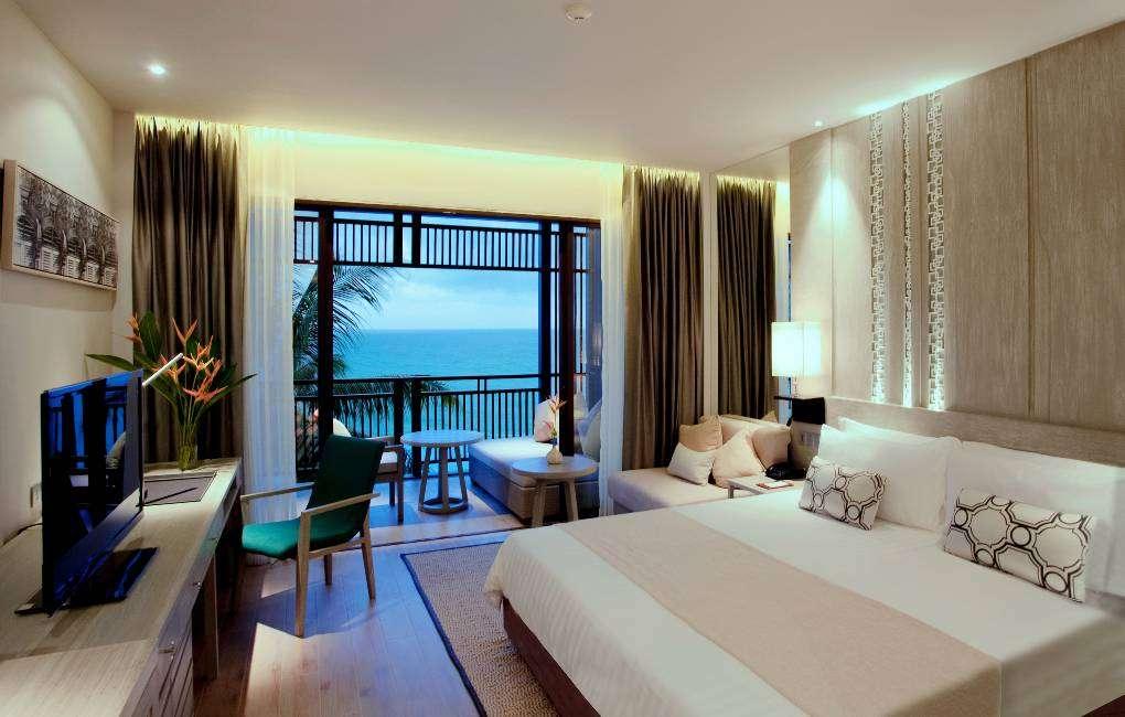 Ocean View kamer van het Pullman Phuket Arcadia in het noorden van Phuket