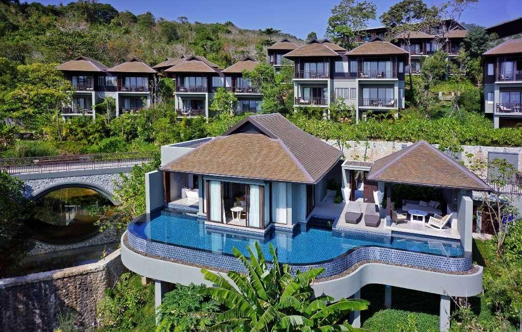 Pool Villa van het Pullman Phuket Arcadia in het noorden van Phuket