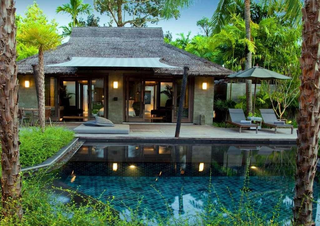 Two Bedroom Pool Villa van The Slate Phuket. een prachtig resort aan Nai Yang Beach op Phuket