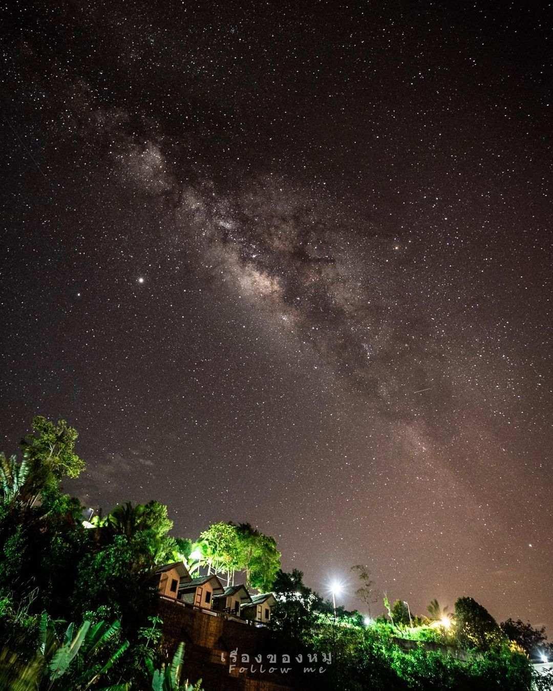 Sterrenhemel boven Phang Nga