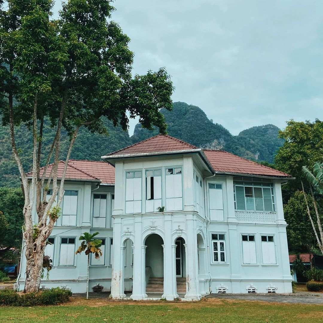 The old house of the gouveneur of Phang Nga Town