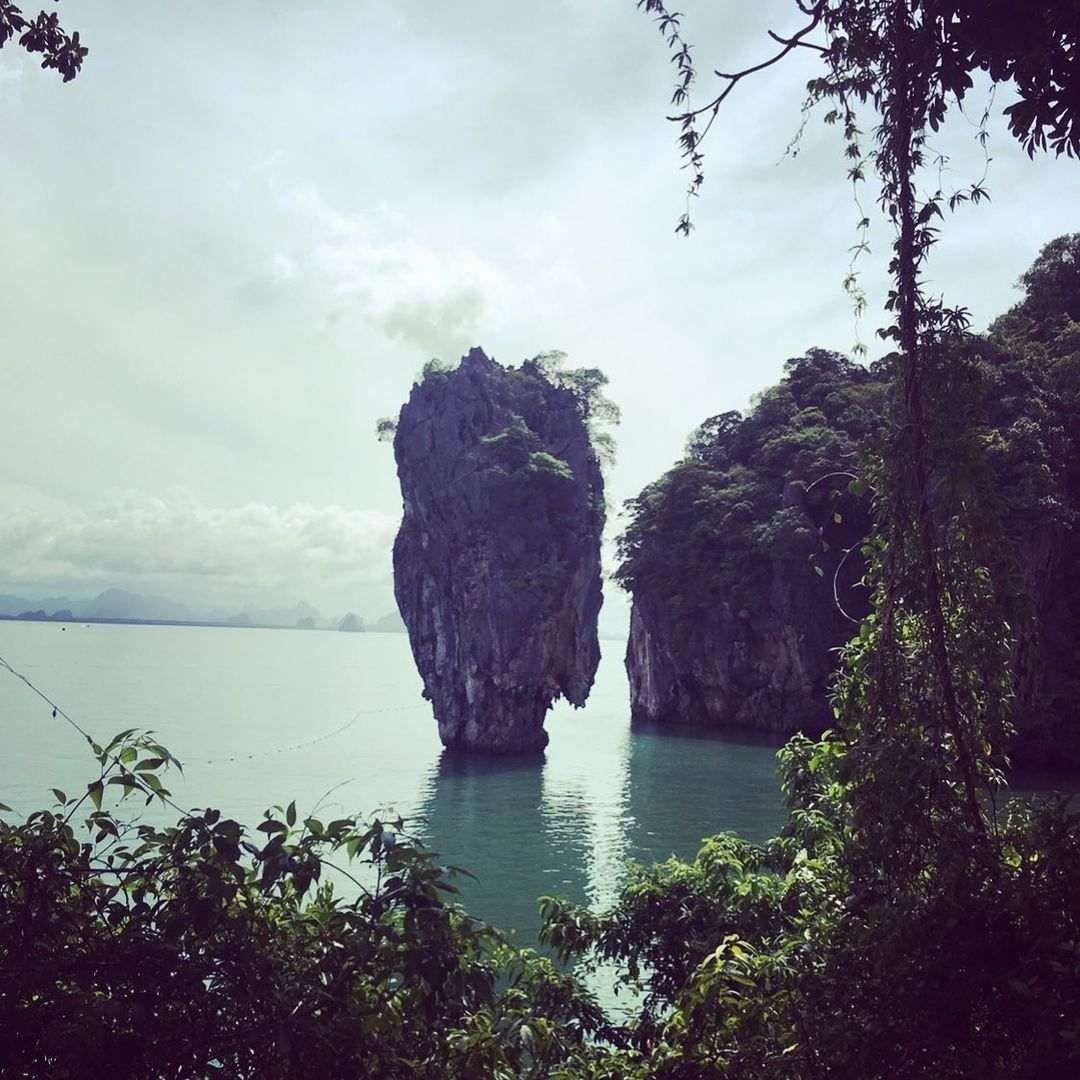 James Bond Island in de Phang Nga provincie