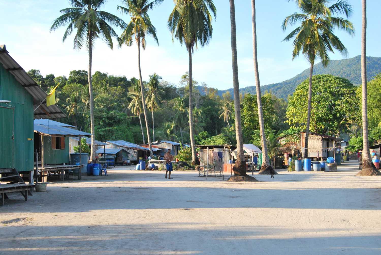 Urak Lawoi village on Koh Lipe