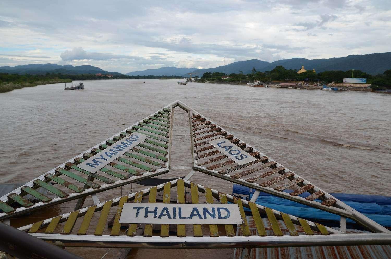 Het drielandenpunt met Thailand, Maleisie en Laos