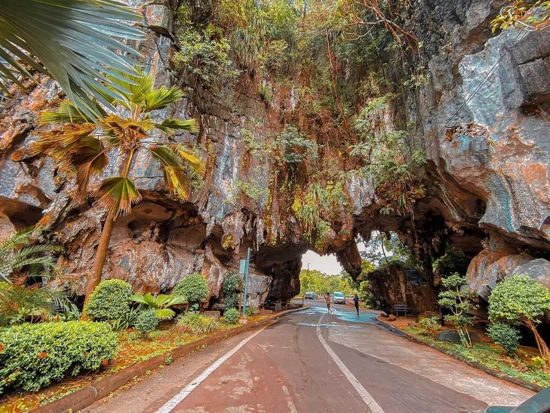 Somdet Phra Srinagarindra Public Park in Phang Nga Town
