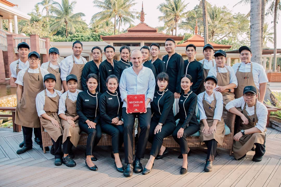 2020 Michelin star for Pru Restaurant on Phuket