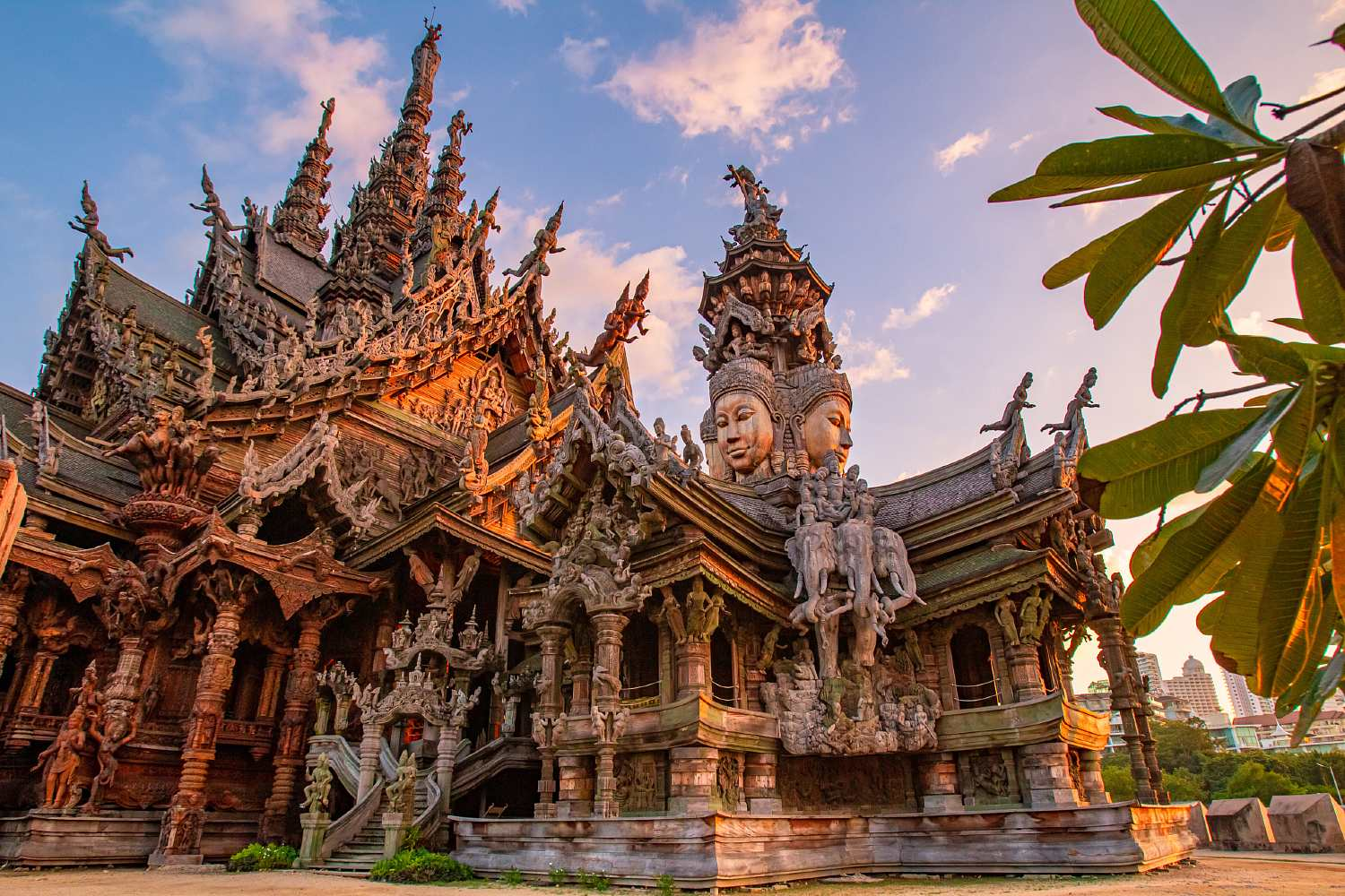 Wooden temple in Pattaya, The Sanctuary of Truth