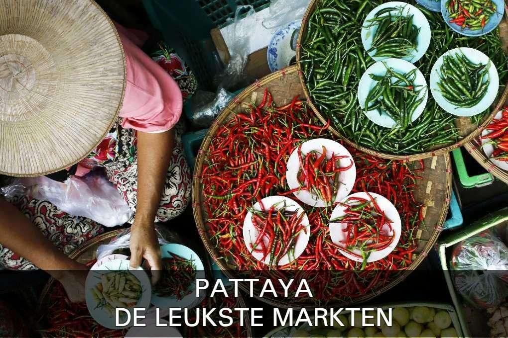 leukste markten in Pattaya, lees hier verder