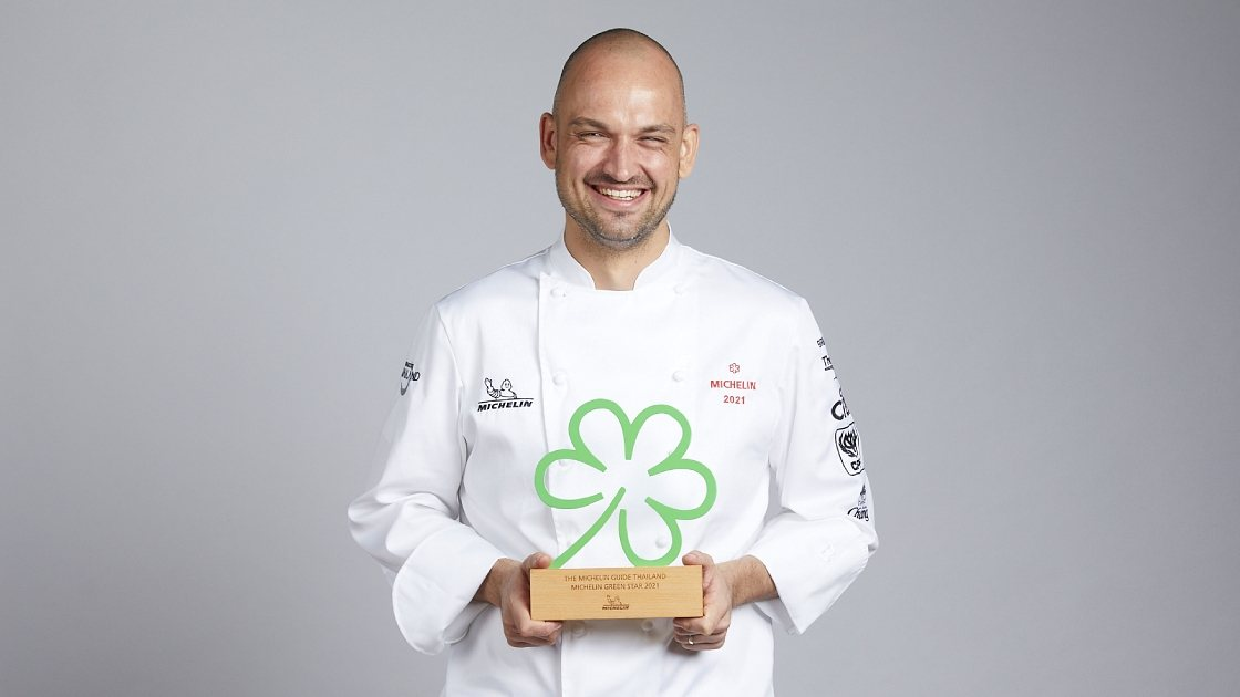 Een Michelin Green Star voor PRU Restaurant in 2021