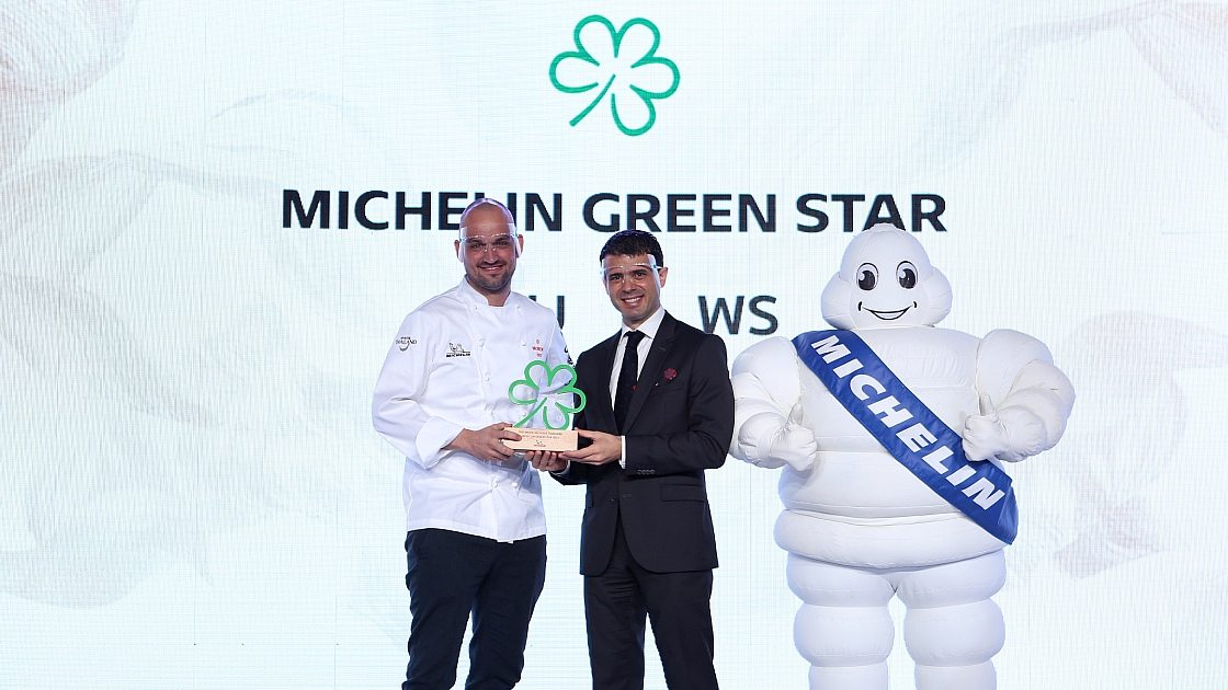 A Michelin Green Star for PRU Restaurant in 2021