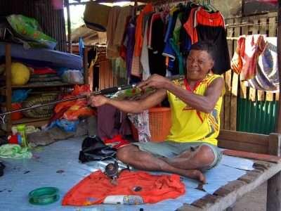 A Descendant Of Urak Lawoi On Koh Lipe