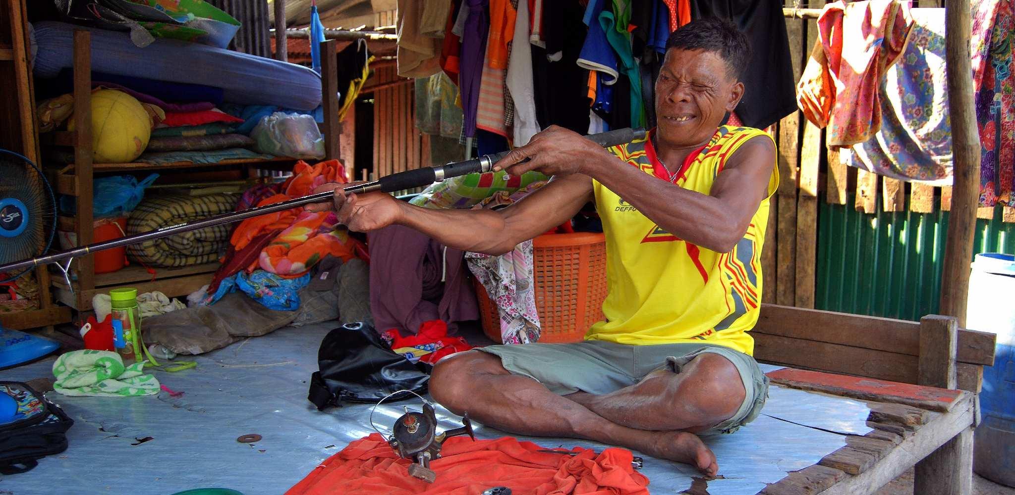 A descendant of the Urak Lawoi on Koh Lipe