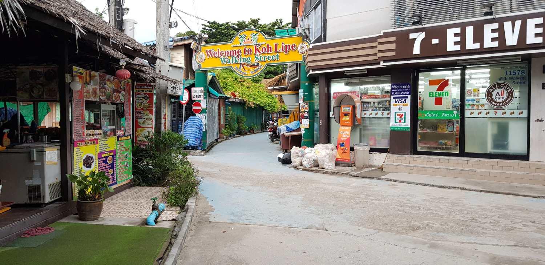 Walking Street on Koh Lipe