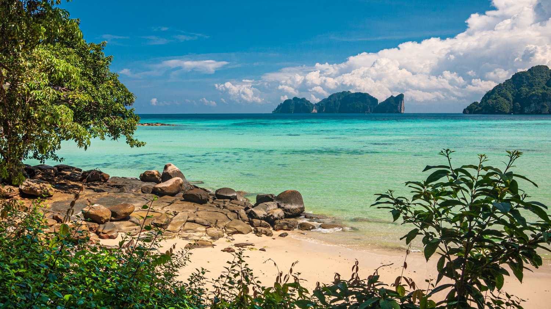 Viking Beach on Koh Phi Phi in Thailand