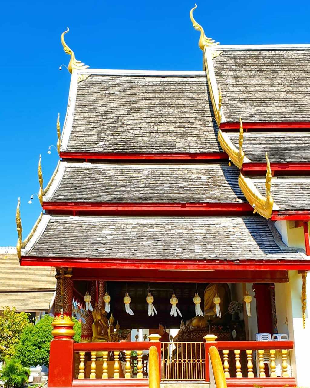 De Wat Chiang Man in Chiang Mai, Thailand