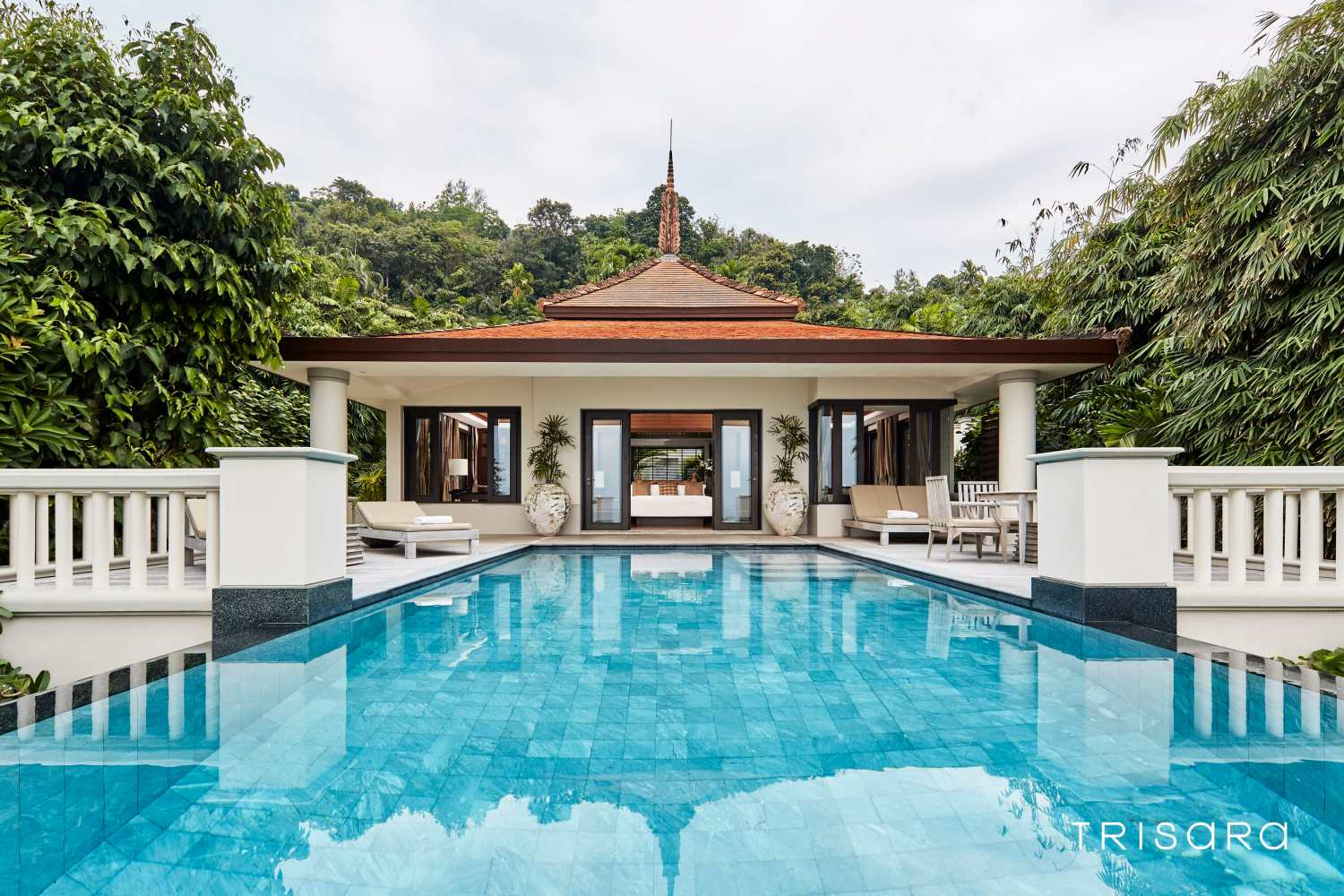 Trisara Pool Villa on Phuket, Thailand