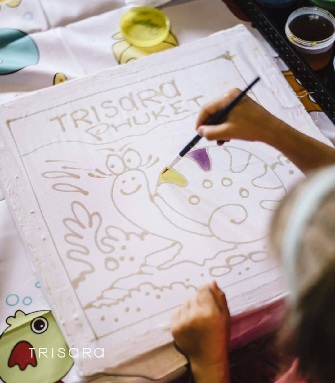 Plenty to do for the children at the Trisara Resort on Phuket
