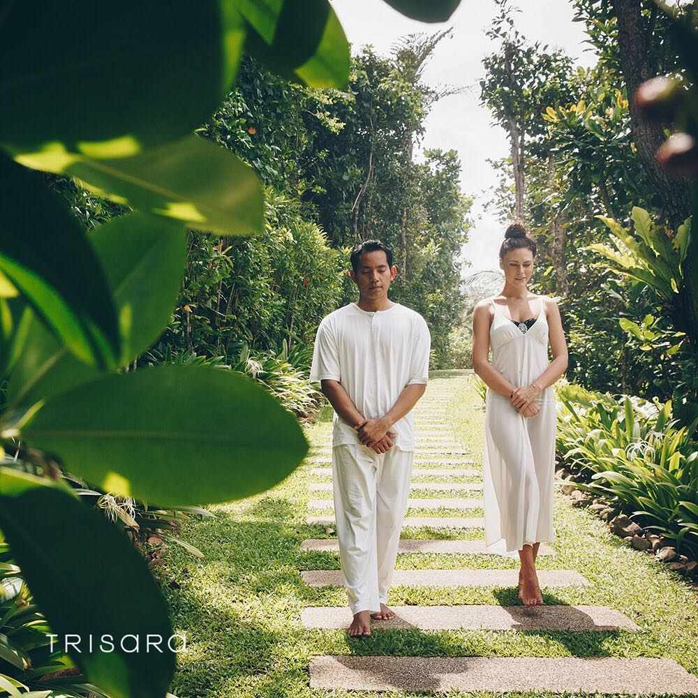 Walking meditation from the Jara Spa of Trisara Phuket