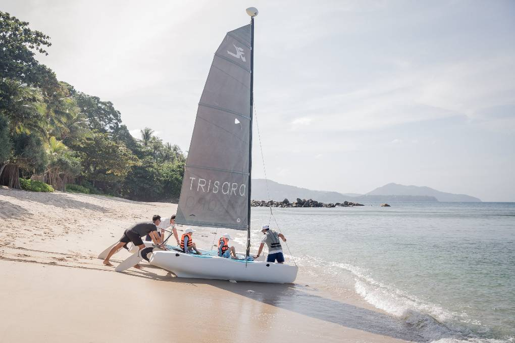 Sailing during your stay in Trisara on Phuket