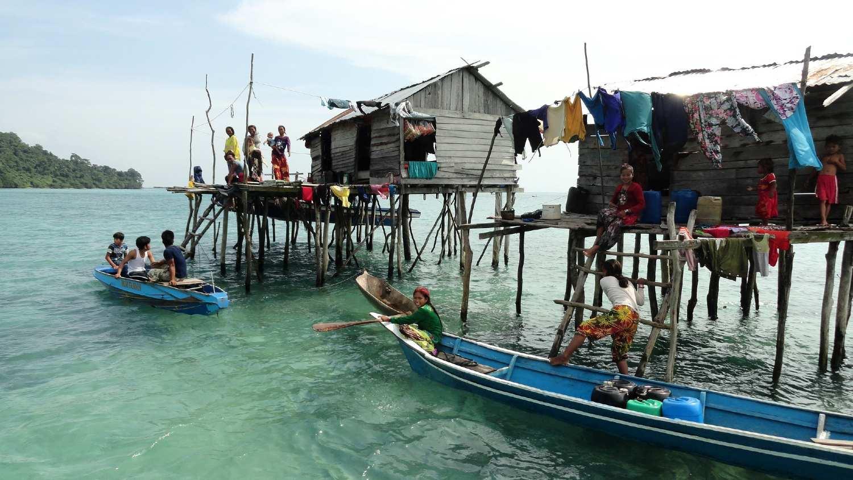 Sea Gypsies in Malaysia