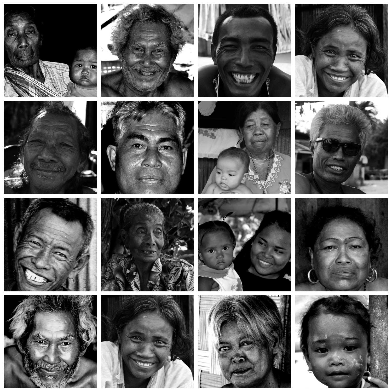 Collage Urak Lawoi tripe from Koh Lipe